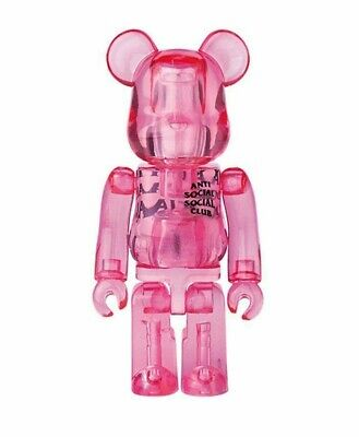 $54.89 • Buy Medicom Bearbrick Be@rbrick 100% Series 38 Anti Social Social Club Jellybean