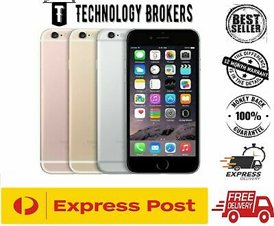 AU175 • Buy Apple IPhone 6S 16GB 64GB 128GB 4G GREY GOLD SILVER 100% UNLOCKED Refurb AUStock