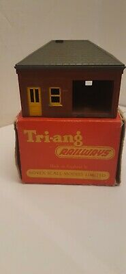 Triang Railways Porters Room & Waiting Room In Original Boxes • 8£
