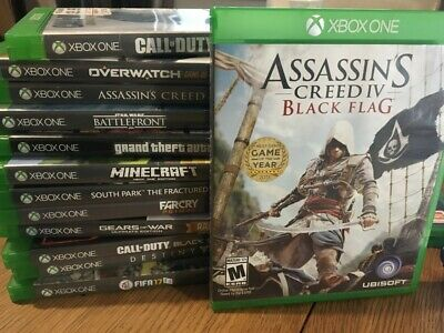 Assassins Creed IV Black Flag. Xbox One Game • 5£