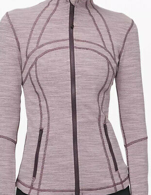 $ CDN88.04 • Buy NWT Lululemon Define Jacket Wee Are From Space Frosted Mulberry Sz 8
