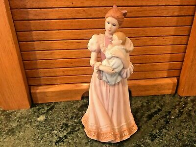 $ CDN25.16 • Buy Home Interiors  COMFORTING ARMS  Mother Woman & Baby Figurine 1999 Porcelain