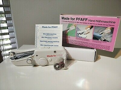 Mini Stitch Portable Sewing Machine. Made For PFAFF. Vintage , Old New Stock.  • 12.99£