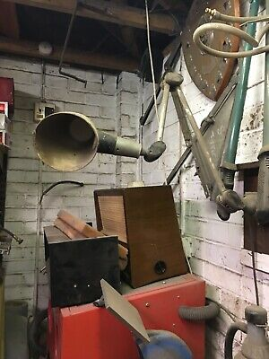 Vintage Industrial Angle Poise Lamp —- Wall Mounted Style • 30£