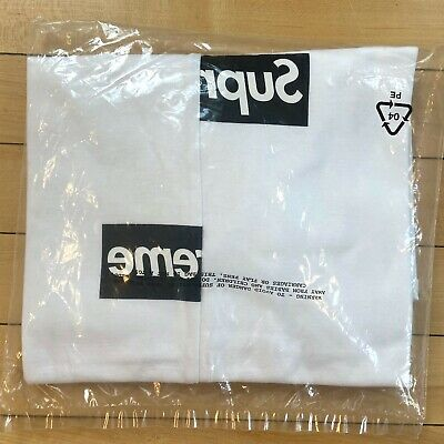 $ CDN127.61 • Buy Supreme 2018 Comme Box Logo Tee / Size M / New Sealed