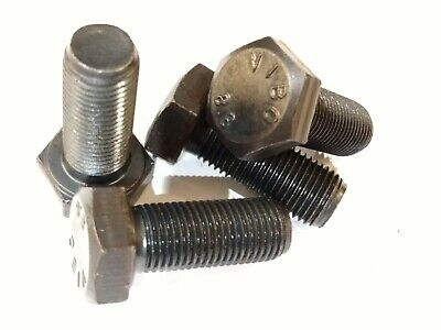 $5.75 • Buy (4) M12-1.25 X 30 Mm Metric Hex Bolts Grade 8.8 (wrench Size 19 Mm)