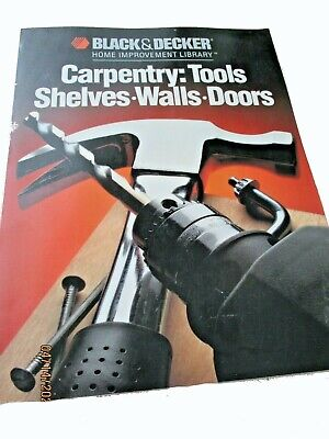 AU16.95 • Buy Black And Decker Home Improvement Library Carpentry Tools Shelves Walls Doors