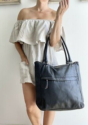 $ CDN31.89 • Buy Authentic KATE SPADE Black LEATHER TOTE BAG Purse