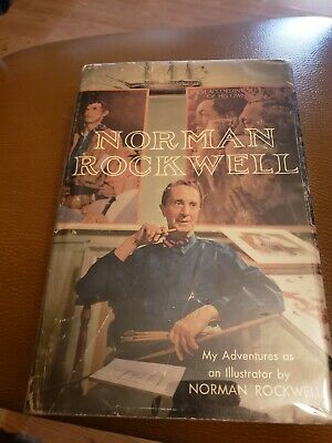 $ CDN114.83 • Buy My Adventures As An Illustrator SIGNED By Norman Rockwell Book, 1960 1st Edition