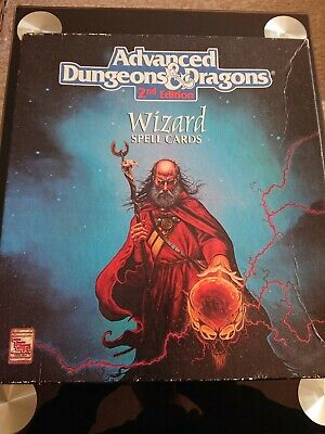 AU53.46 • Buy Advanced Dungeons And Dragons Wizard Spell Cards
