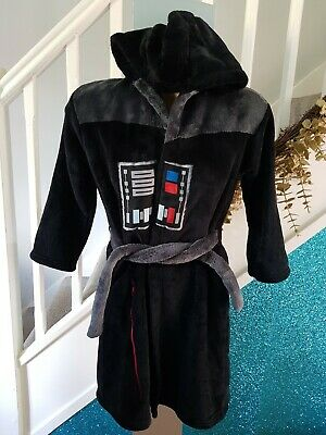 Star Wars Dressing Gown M&s Age 7 - 8 Years • 8£