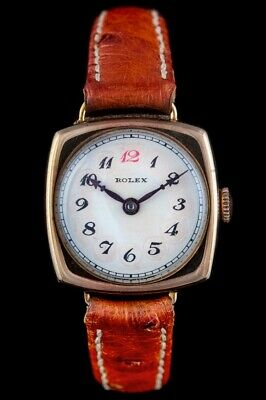 Rolex. 1920s Ladies Watch. 9K Gold '7 World's Records. Gold Medal. No 2563142 • 695£