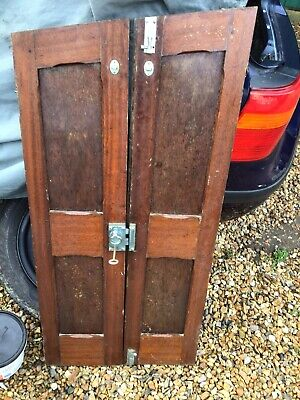 CLASSIC WOODEN Boat Interior Doors With Davey Fittings • 110£