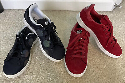 $ CDN37.02 • Buy Lot Of 2 Adidas Stan Smith Shoes Sneakers Mens 5.5-7