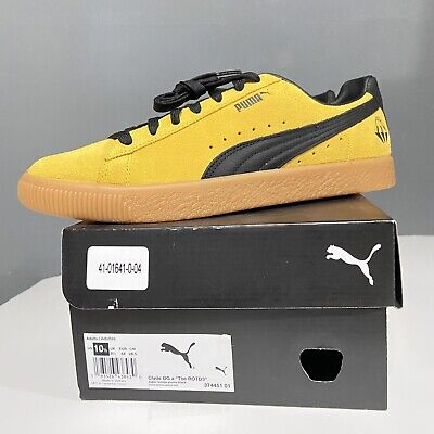 Puma Clyde OG Dreamville The ROTD3 Limited Edition J.Cole Yellow And Black • 178.86£