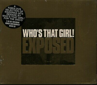 £3.75 • Buy Madonna: Who's That Girl - Exposed (2001) 2 X CD BRAND NEW & SEALED