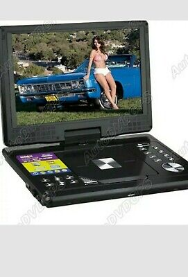 12 Inch Car Home Portable DVD Player With TFT LCD Screen And MP3 MP4 TV SD DIVX  • 65£
