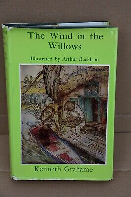 The Wind In The Willows By Kenneth Grahame, Illus By Arthur Rackham • 7.99£