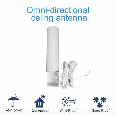 £28.54 • Buy Outdoor Waterproof Antenna With SMA Male/CRC And TS9 Connector 10W 10-12DBi Gain