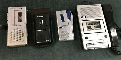 Job Lot Of Dictation Machine Recorders Grundig Stenorette 2300L Realstic +More • 5£