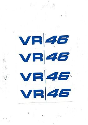 6 VALENTINO ROSSI 46 YAMAHA Decals Motorbike Stickers Motorcycle Tank Fairing • 1.99£