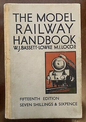 Bassett Lowke - The Model Railway Book 1950 • 5£
