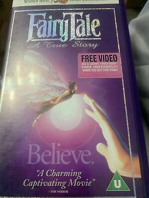Fairytale - A True Story VHS Video Retro • 5.89£