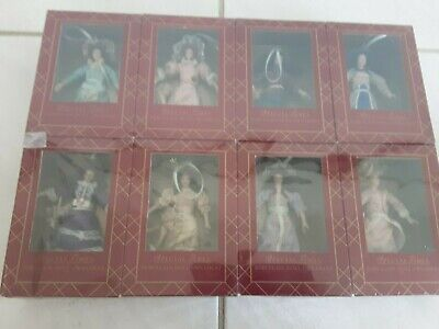 $ CDN63.13 • Buy Lot Of 8 Special Times Porcelain Doll Ornaments,  Sealed Box 1:12 Scale
