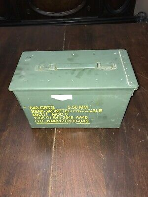 $49.95 • Buy 4 PACK 50 Cal M2A1 AMMO CANS In Good Shape
