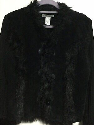 Genuine Leather - Wool And Other Material, Cardigan XL • 6£
