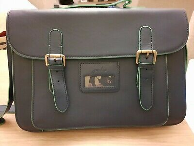 Joules Blue And Green Satchel Briefcase Bag Handbag - In Great Condition • 20£