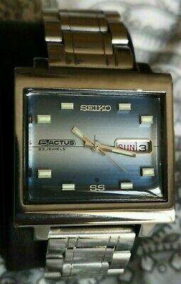 $ CDN367.01 • Buy Seiko 5 Actus 1970s Men Automatic Uhr Japanese Stainless Steel Watch FB206 Retro
