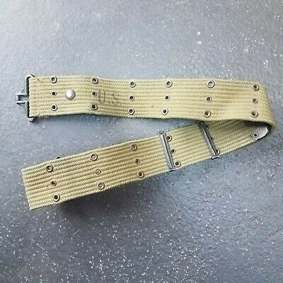 $20 • Buy Original US Army USMC USN USAAF USCG Web Buckle Pistol Equipment Belt WWll Ww2
