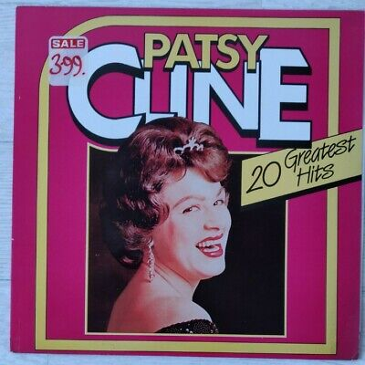 Patsy Cline LP -  20 Greatest Hits • 1.99£