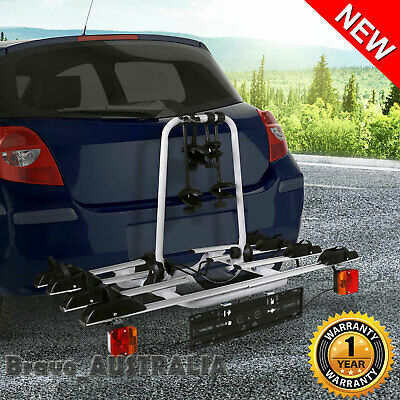 AU326.90 • Buy 4 Bicycle Car Bike Carrier Rack Towbar Towball Mount Ball Mount Silver