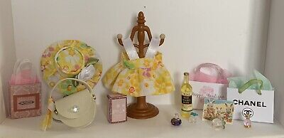 Sylvanian Families Handmade Dress Hat And Accessories • 6.99£