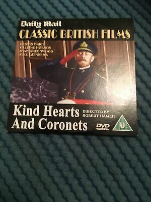 Promo Dvd Kind Hearts And Coronets  • 1.20£