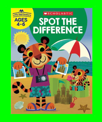 £5.99 • Buy Spot The Difference Activity Book Brain Training Kids Fun Gift Learning Animals