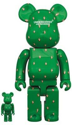 $287 • Buy Medicom Bearbrick 2020 Undercover Jun Takahashi Fxxk Finger 100 & 400 NEW Japan