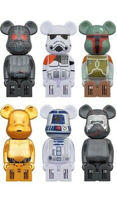 $140 • Buy Medicom Toy Cleverin BE@RBRICK Bearbrick Star Wars All 6 Complete Set Japan New