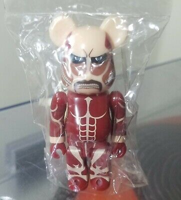 $45 • Buy ATTACK ON TITAN Be@rbrick 100% Series 27 S27 Horror Bearbrick Medicom Art Toy