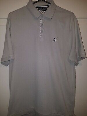 Duck And Cover Polo Shirt In Grey Size XL New Without Tags. • 4.99£