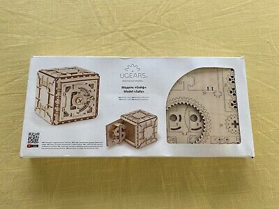 AU60 • Buy UGEARS 70011 Safe Box Wooden Build Model Laser Cut BNE Stock Unwanted Xmas Gift