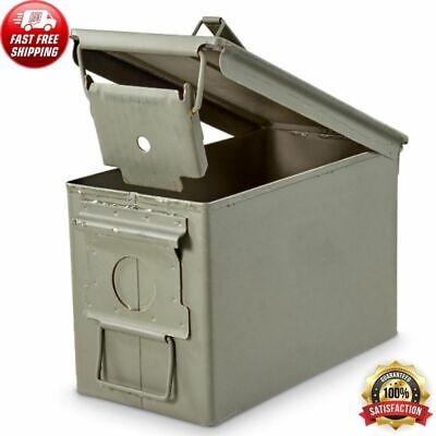 $35.88 • Buy M2A1 AMMO CAN Ammunition Case US Army Military Issue Surplus 50 Caliber Storage