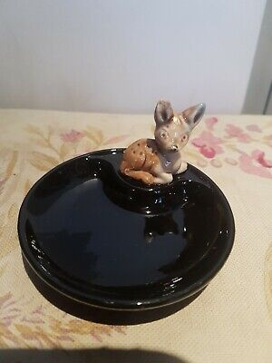 Wade Whimsy Whimsies Whimtray Fawn. Pin Trinket Dish Made In Ireland. VGC • 11.99£