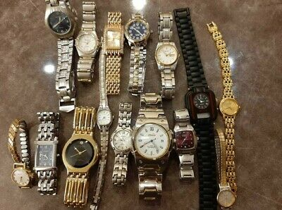 $ CDN126.28 • Buy Lot Of 15 Watches Citizen, Seiko, Pulsar, Bulova, Ellesse, Guess, Casio And More