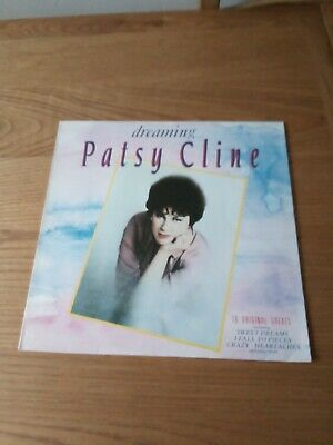 Patsy Cline, Dreaming, LP Record • 1.95£