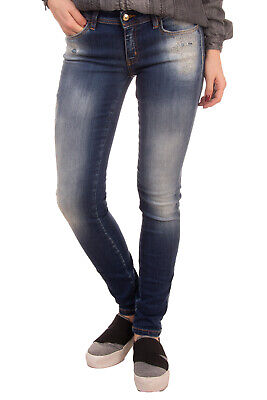 $ CDN52.01 • Buy RRP €245 JUST CAVALLI Jeans Size 29 Stretch Distressed Faded Embroidered Flower