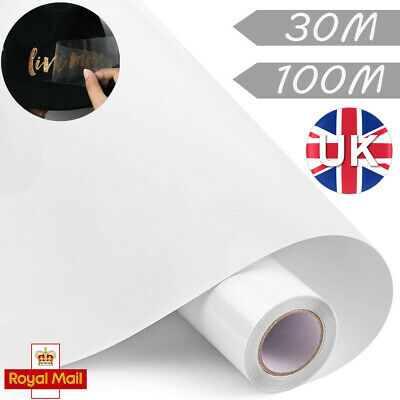 30/100M Clear Vinyl Application Tape For Car Wall Craft Art Decal Transfer Paper • 23.59£