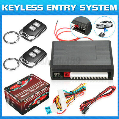 AU21.89 • Buy AU Car Remote Control Keyless Entry Central Door Lock Locks Locking System